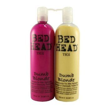Bed Head Dumb Blonde Shampoo Conditioner Set Protect Your Color