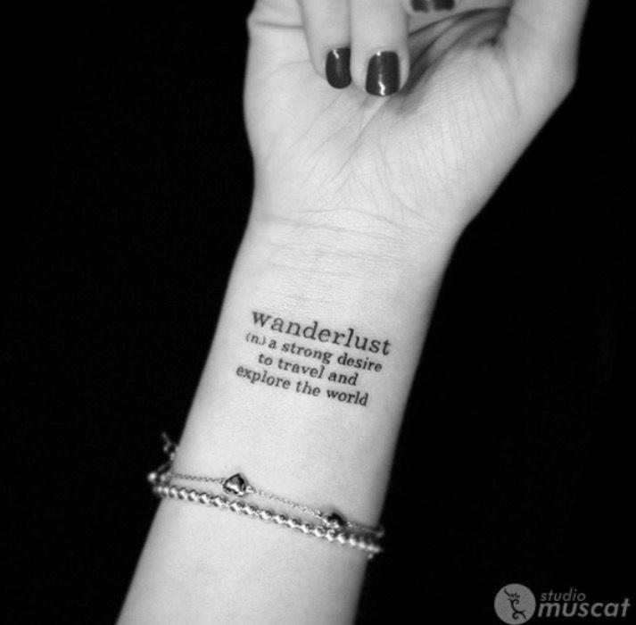 Cute Simple Wrist Tattoo ️ } Not My Photo { #tattoo #cute