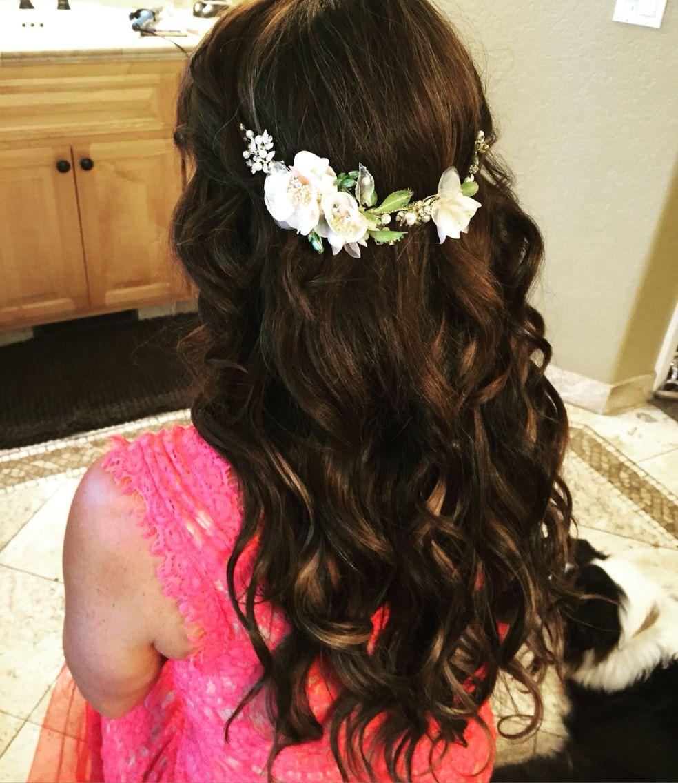 Had the privilege of doing the birthday girls hair!!! @haleymarie @haleymorgan