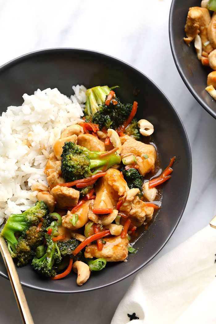 32 + Chicken Breast Meal Prep Recipes #healthystirfry