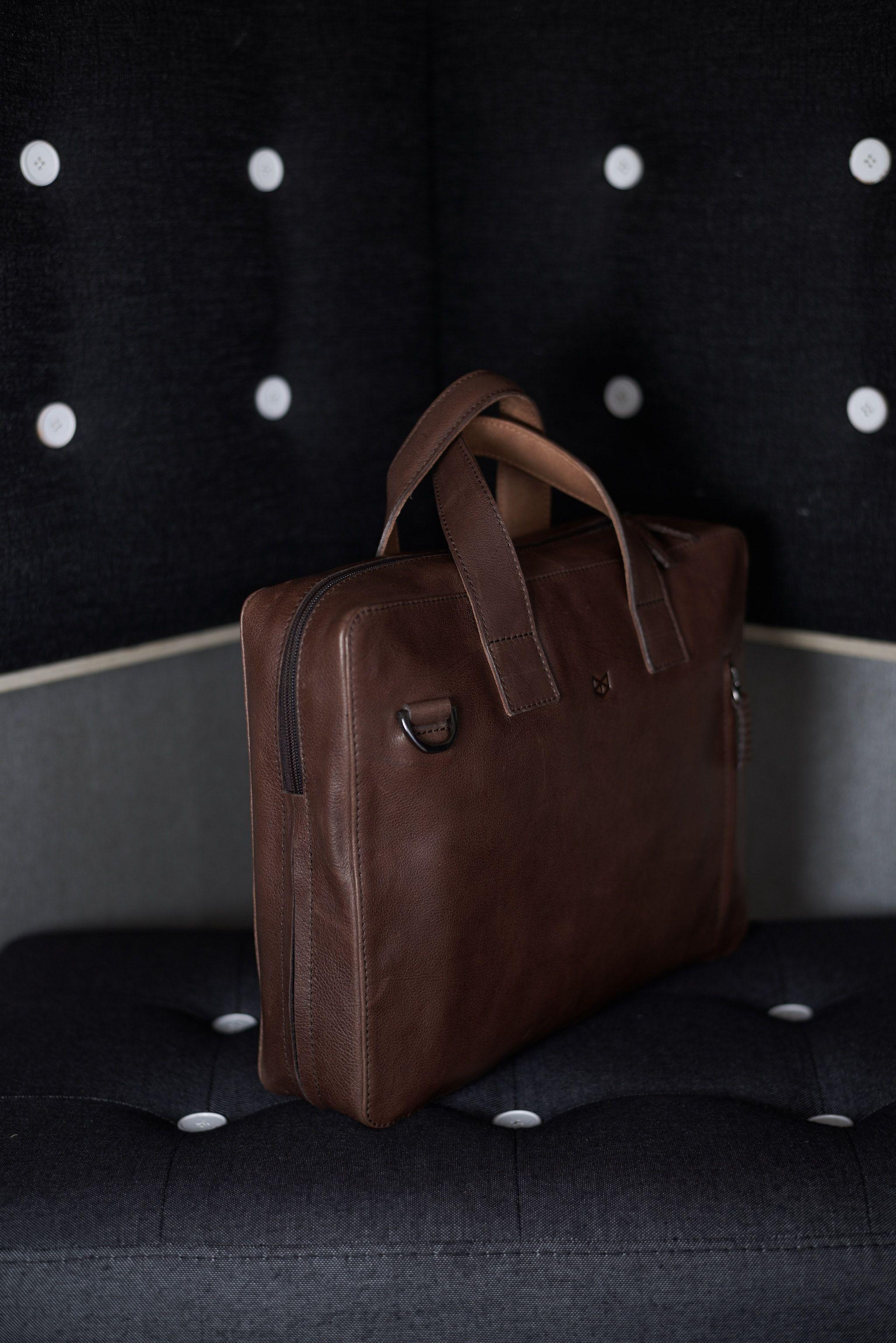 d983bdcdaad7 Roko Briefcase · Brown | Gear You'll Love | Leather briefcase ...