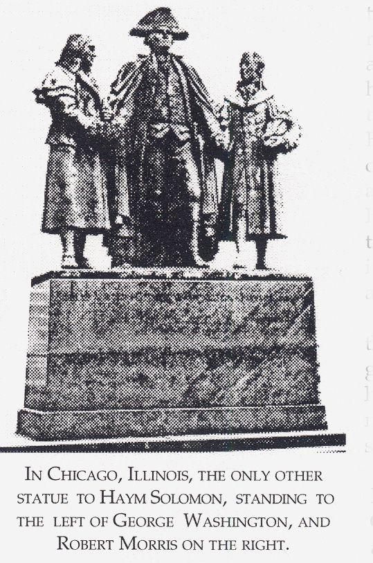Image result for monument haym salomon