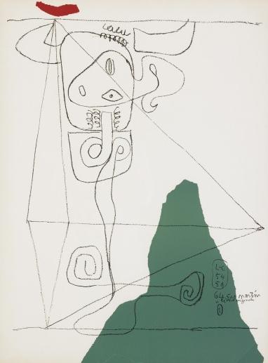 Le Corbusier - Taureau I, 1954-1964