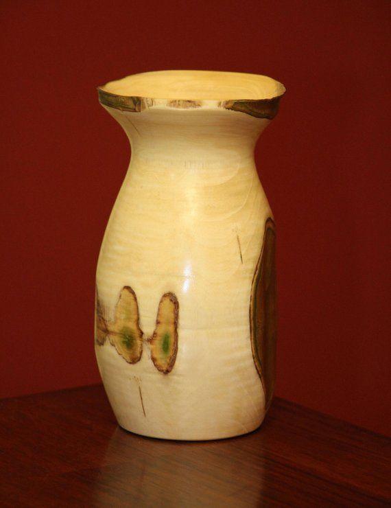 Turned Crepe Myrtle Vase Wood Turning Wood Turning Lathe