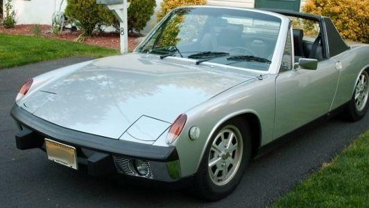 """Silver Metallic"" 1973 Porsche 914 2.0L"