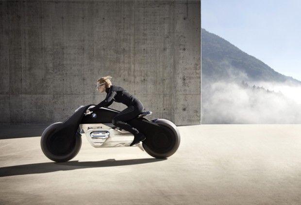 Bmw Motorrad Vision Next 100 La Moto Du Futur Bmw Bmw Motorrad Moto Du Futur