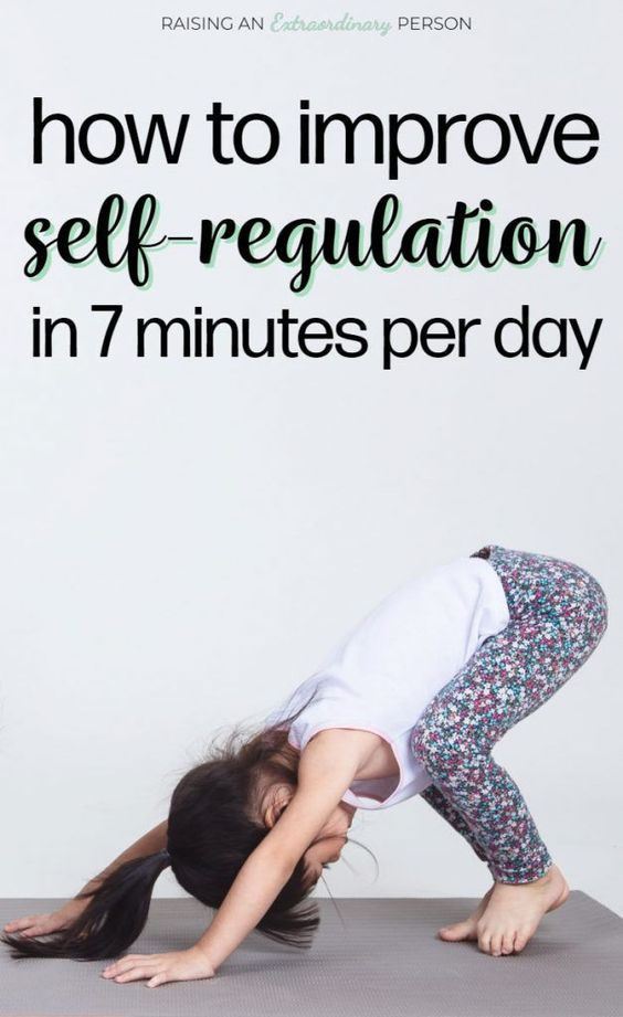 How to Improve Self-Regulation in 7 Minute