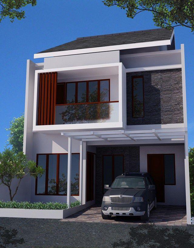 Inspirasi Desain Rumah Kecil Tipe 27 Nyaman Dalam Kesederhanaan Rumah Minimalis Desain Rumah Kontemporer Desain Rumah 2 Lantai