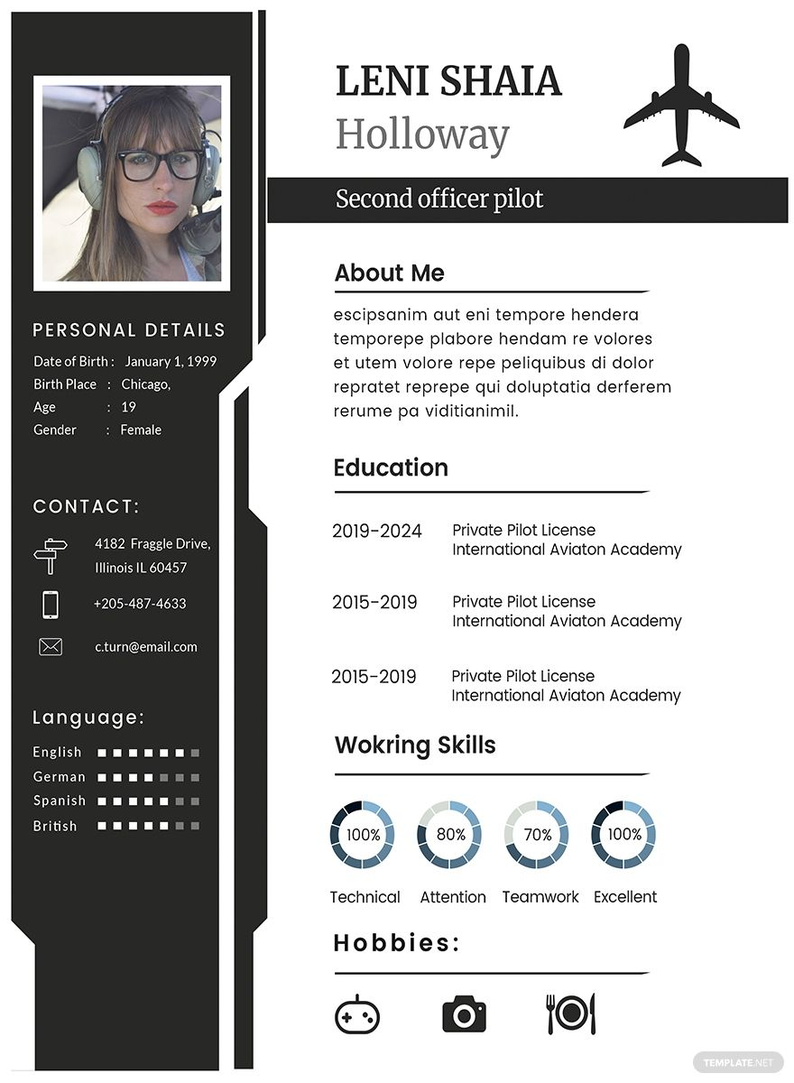 Pin On Free Resume Template Download