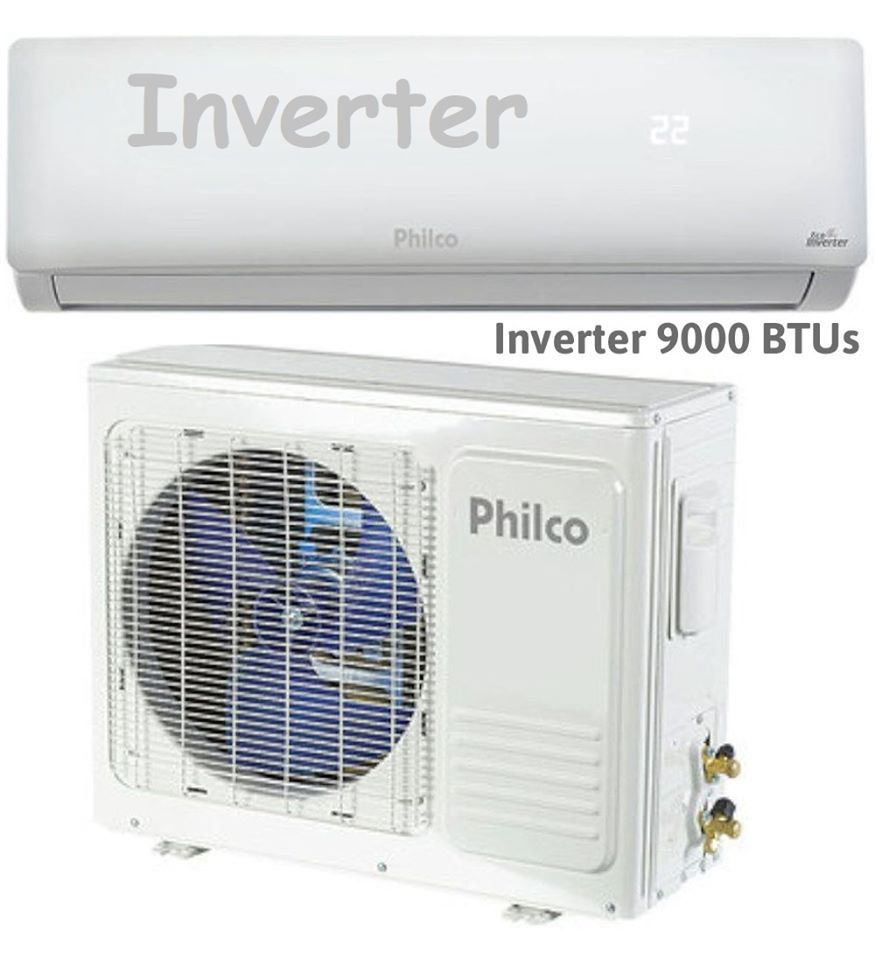 Ar Condicionado Philco Split Inverter 9000 Btus Frio Pac9000ifm9