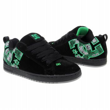 0fdcccfa DC Shoes Men's Court Graffik. Aww I had similar ones in high school. Miss  having black and green shoes