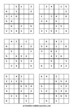 Eloquent image within printable sudoku 4 per page