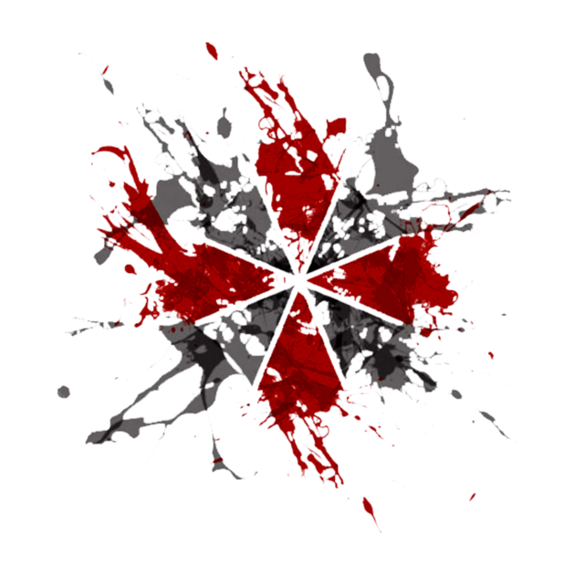 Resident Evil Umbrella Splatter Resident Evil Evil Background Umbrella Tattoo