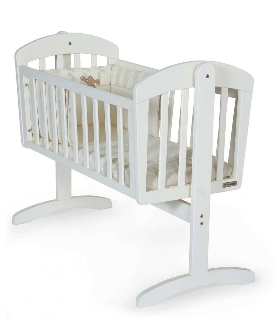 Breeze Crib White Mamas Papas Bahrain White Nursery Furniture Crib Swing Cribs