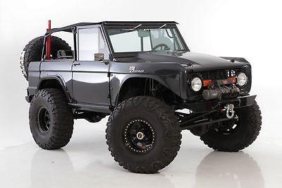 Ford Bronco Custom Restored 351 Engine Ford Bronco Bronco Classic Ford Broncos
