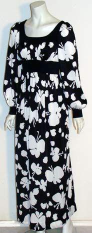 Vintage 1970s Olga Nylon Nightgown