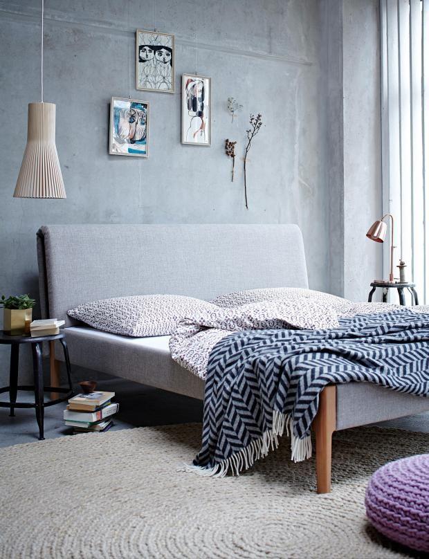 Grau Als Wandfarbe Schoner Wohnen Schlafzimmer Wohn Schlafzimmer Und Wohnen