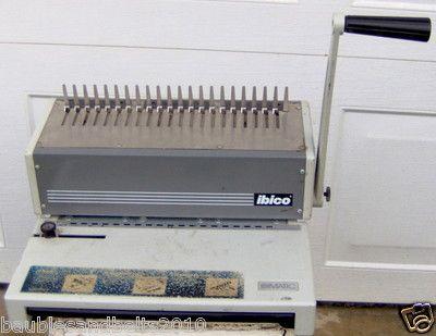 Ibico Ibimatic Manual Punching And Plastic Comb Binding Machine 99 99 Binding Machines Home Appliances Kitchen Appliances