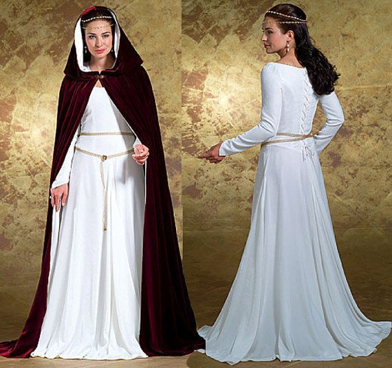 53 Best Images About Medieval Dress On Pinterest: Authentic Medieval Costume Patterns
