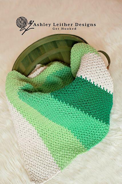 Oliver Blanket Free Crochet Pattern | Free Crochet Patterns | Baby ...
