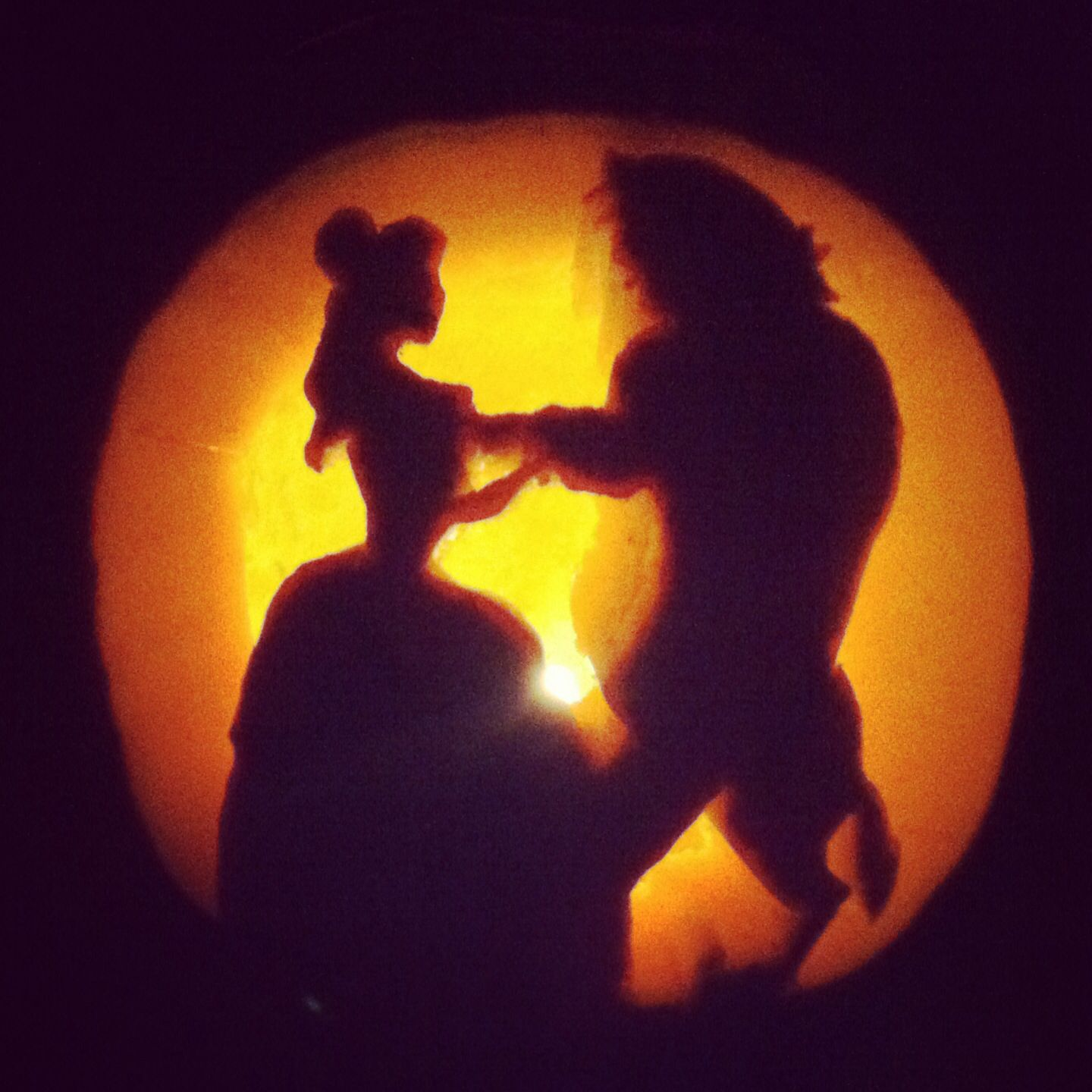 Princess belle Beauty and the beast pumpkin carving silhouette ...