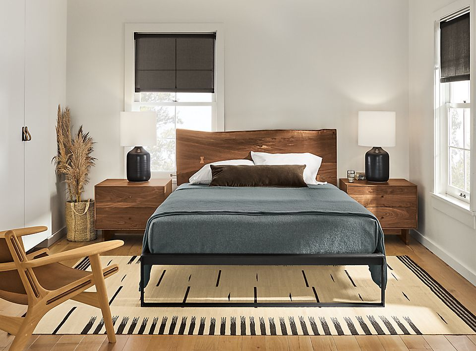 Chilton Bed in Walnut in 2020 Furniture sets, Bedroom