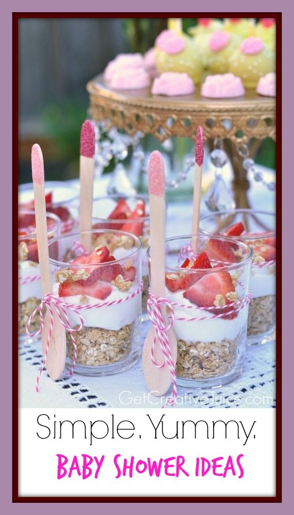 Food 3 Great Baby Shower Ideas