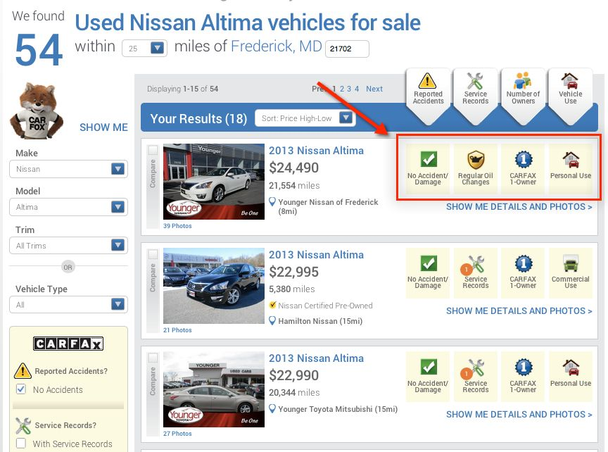 Carfax Introduces New Used Car Listing Consumer Portal #auto #search ...