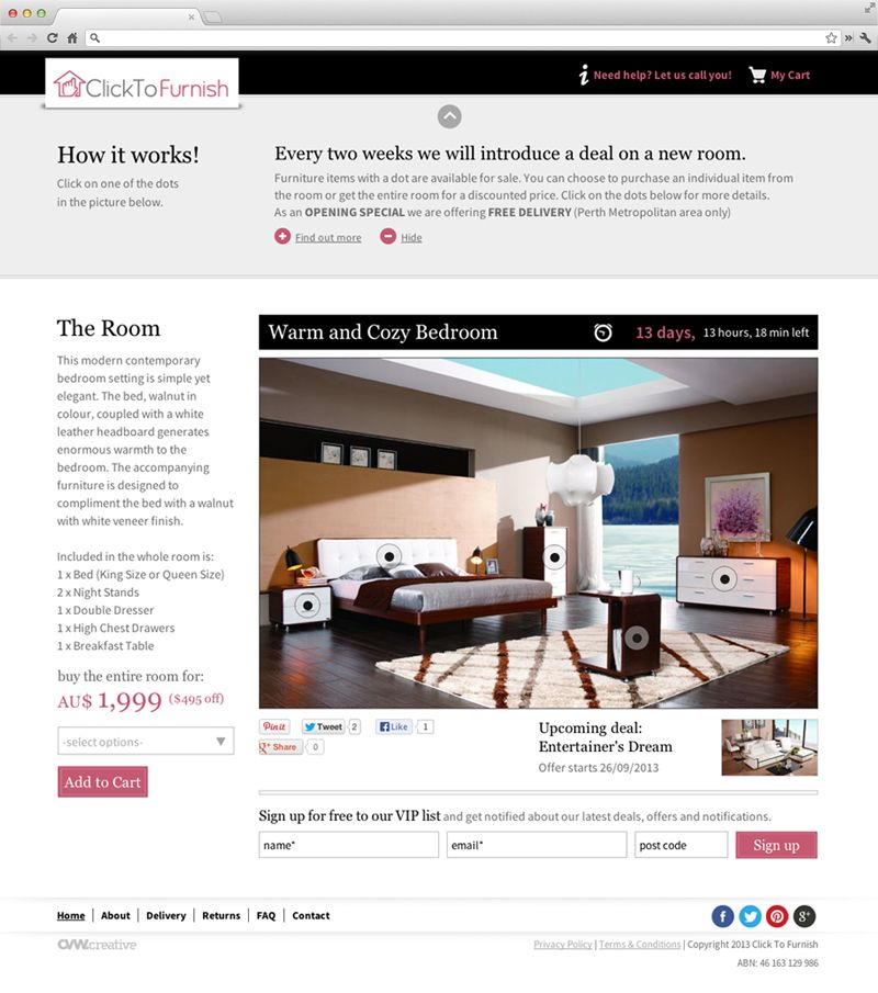Click To Furnish New Website Design And Ecommerce Project Web Design Perth Web Development Perth Ecomme Web Design News Website Design Creative Web Design