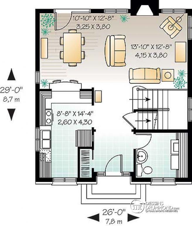 Découvrez le plan w2761 cellini qui vous plaîra pour ses 3 chambres et son style européen plan maisonmaison unifamilialeidées