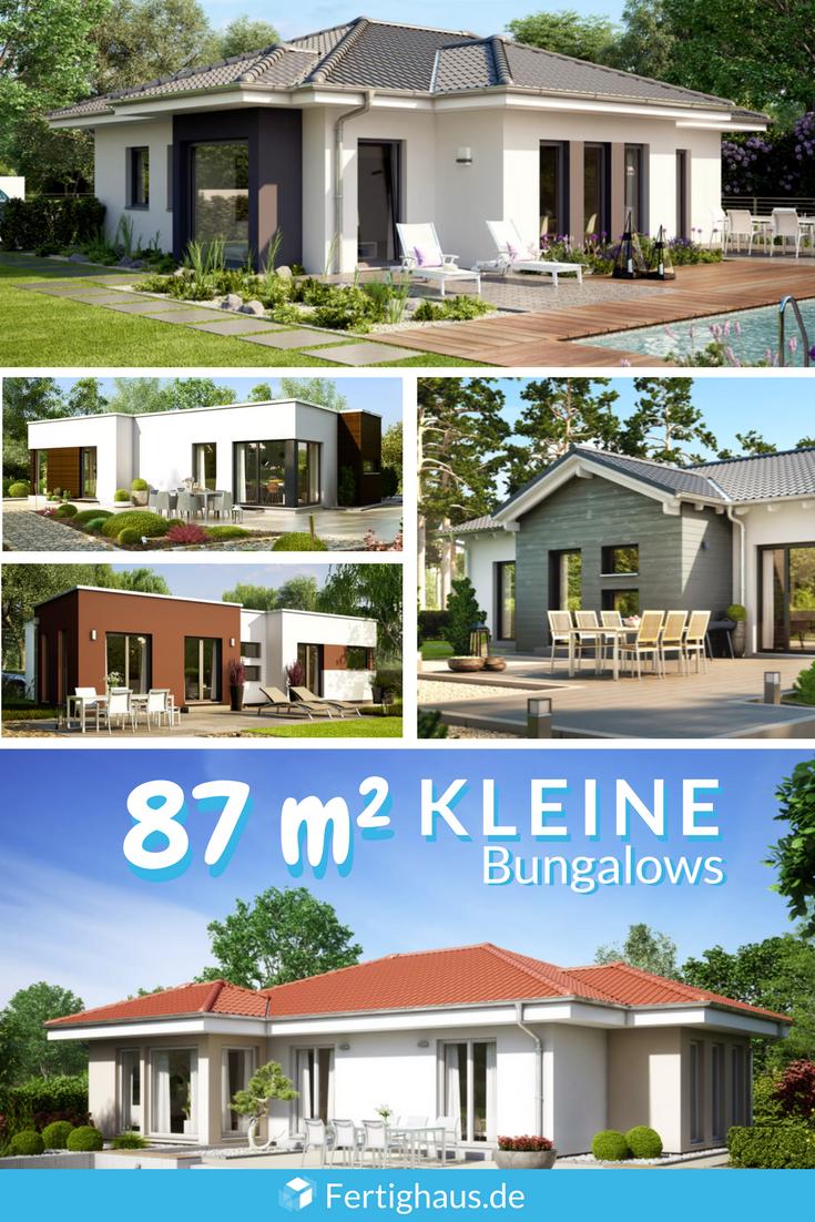 Kleine Gunstige Bungalows Der Reihe Solution 87 Von Living Haus