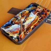 Vintage Classic Rock N Roll Collection Grunge Icon Nirvana Kurt Cobain Painting iPhone 4/4S, iPhone 5/5S/5C, iPhone 6 + 6 Plus Case, Samsung S3 S4 S5
