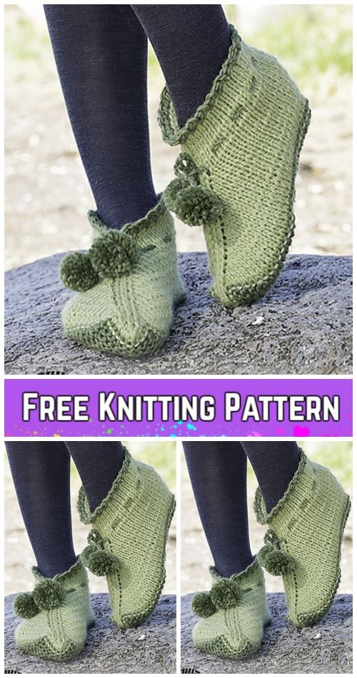 Knit Elf Slippers Free Knitting Patterns & Paid | lavori vari ...
