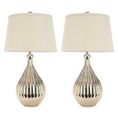 Traditional Shop By Style Home Target Table Lamp Sets Lamp Sets Metal Table Lamps