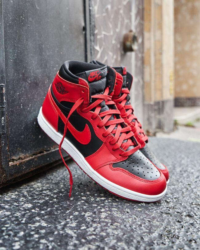 Air Jordan 1 High 85 Varsity Red | Chaussure nike jordan ...