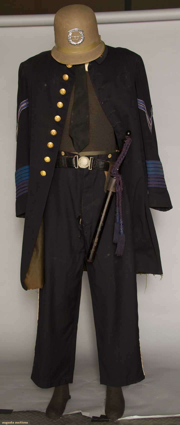 Augusta Auctions: brooklyn police officer's uniform, 1890s ...