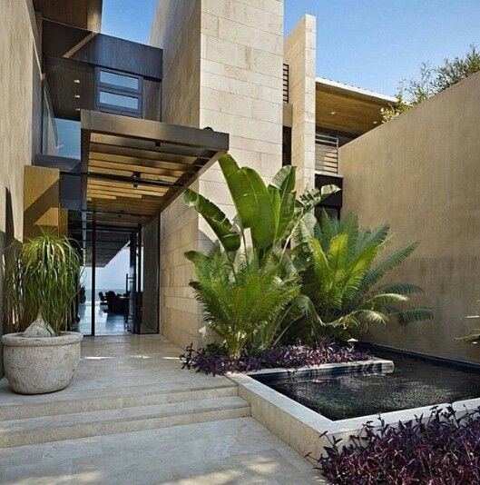Gorgeous Modern Stone House On The Beach Mexico