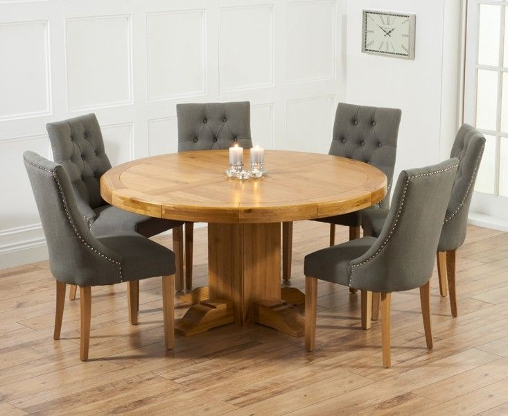 Large Round Oak Dining Table 8 Chairs What Is The Advantage Of Portable DiningÂ