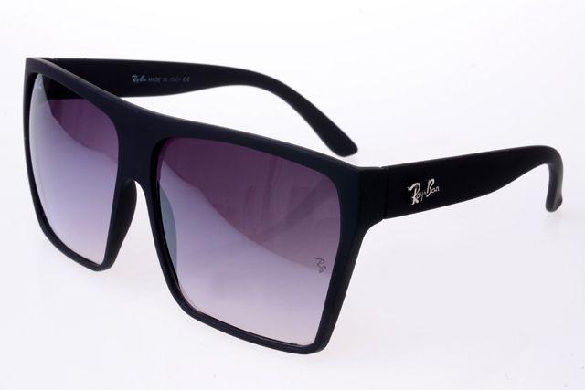 Ray Ban Clubmaster RB2128 Sunglasses Black Frame Purple Lens
