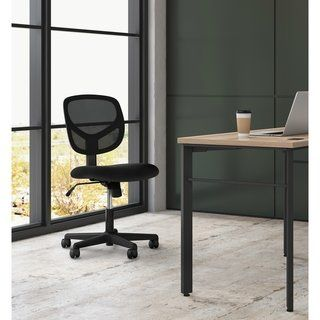 Sadie Swivel Mid Back Mesh Task Chair Without Arms Ergonomic