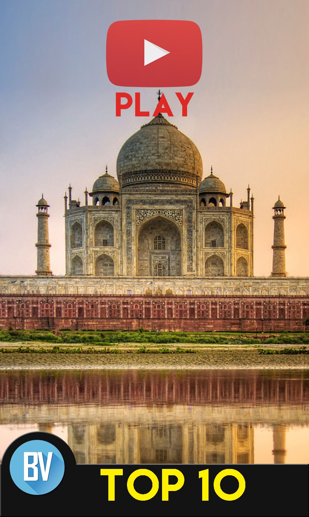 Top 10 Most Beautiful Places to Visit in India Taj mahal