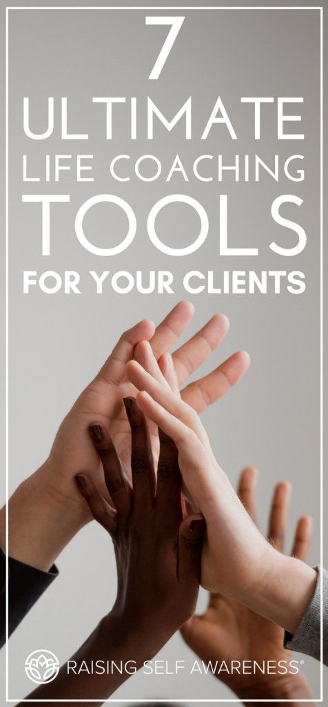 7 Ultimate Life Coaching Tools for Your Clients #lifecoachingtools