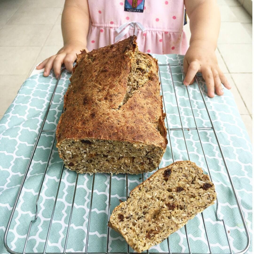Ava S Healthy Breakfast Loaf Baby Led Weaning Ideas Breakfast Loaf Healthy Breakfast Baby Led Weaning Recipes