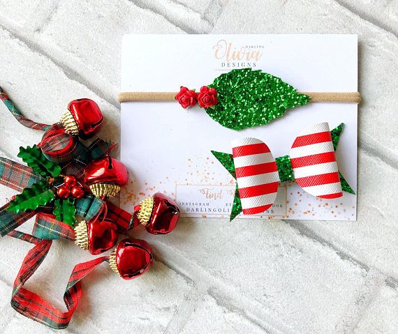 This Beautiful Christmas Bow Set Contents