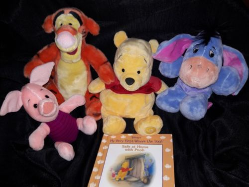 Winnie the Pooh and Friends, Rigger, Eeypre and Piglet Bundle  I will include Storybook  Visit www.amazon.com/shops/funadventures