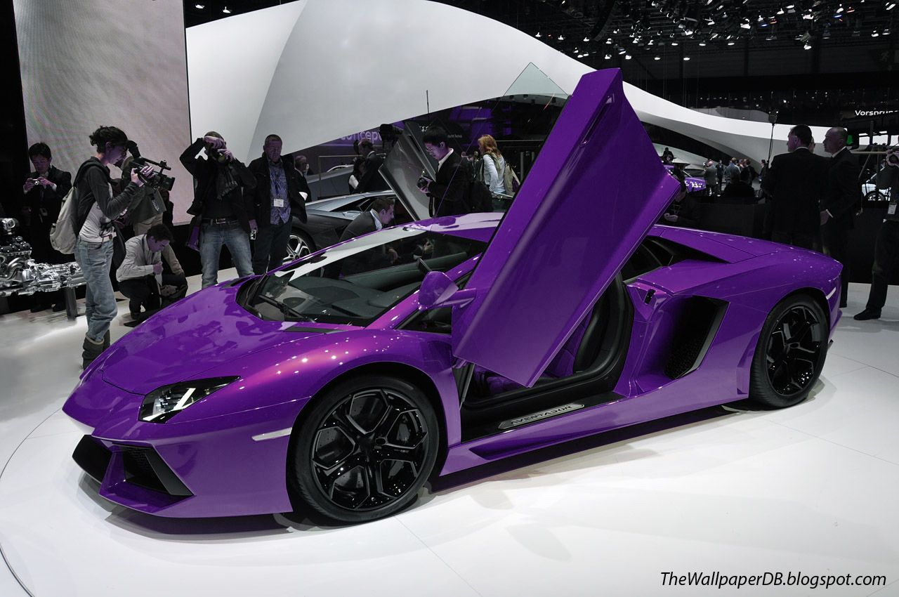 Purple 2014 Vehicles 2014 Lamborghini Aventador Lp700 4 Roadster