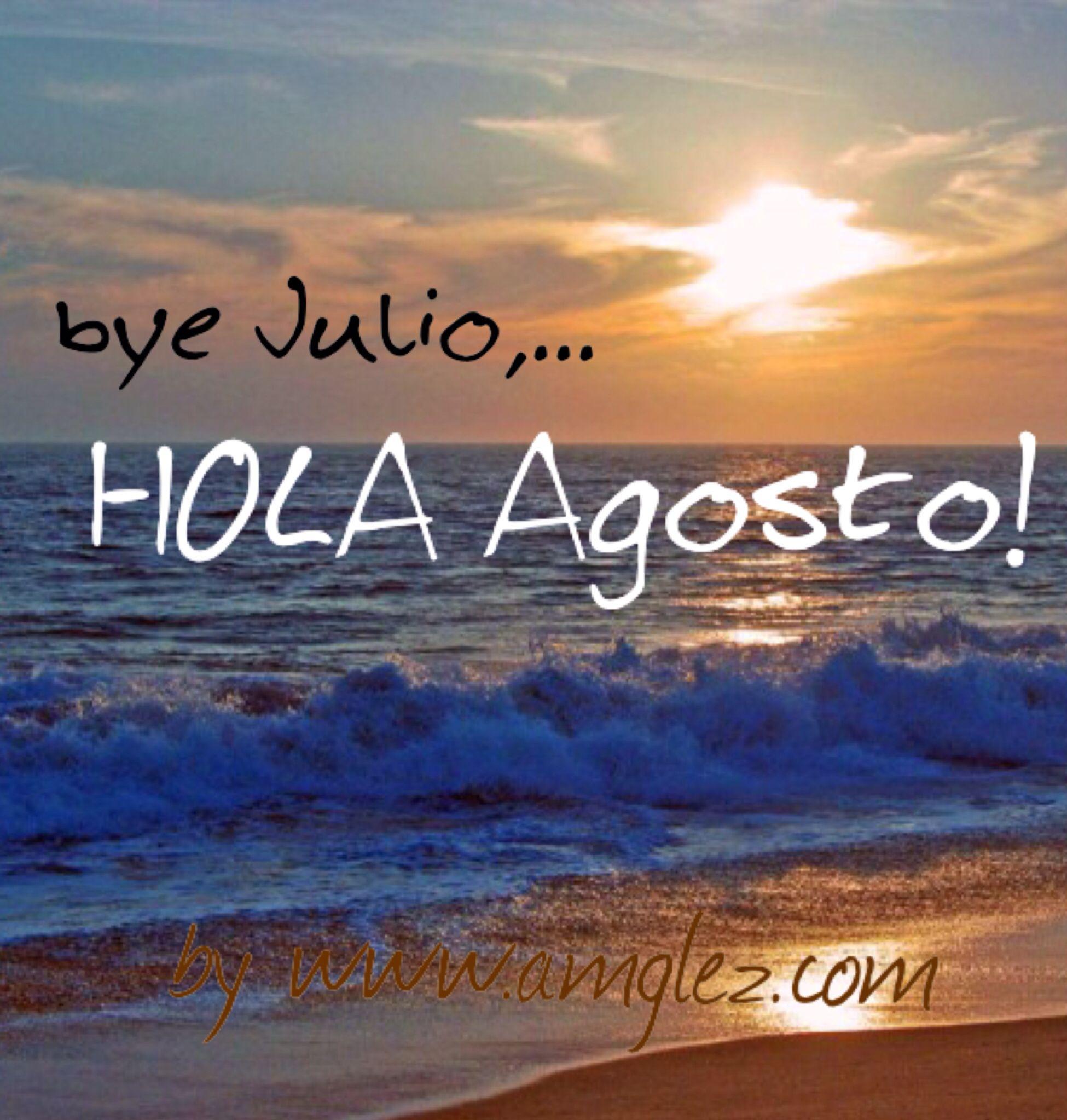 Buenos días ;) nuevo mes, nuevas metas. #BienvenidoAgosto y feliz #Viernes Sígueme en mi #blog www.amglez.com