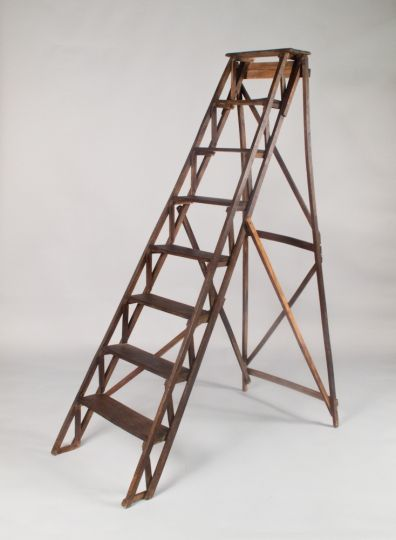 Folding Library Ladder