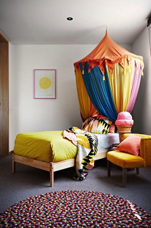 home inspiration COLOUR-FULL COASTAL HOME HOME Pinterest Tent
