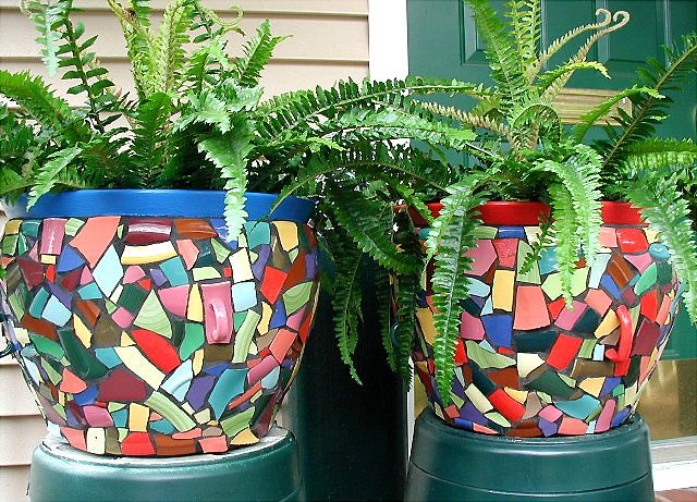 Little hunter mosaics by priscilla ewing mosaic potsvases little hunter mosaics by priscilla ewing workwithnaturefo